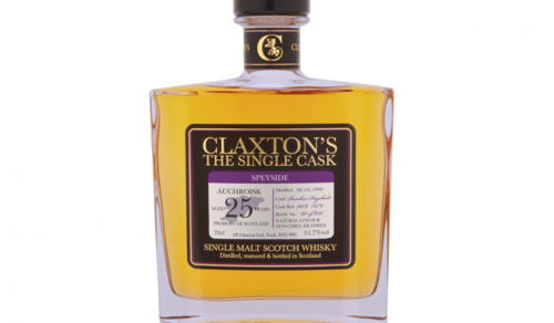 Claxton's The Single Cask Auchroisk 25 Years Old
