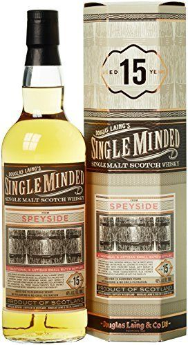 Douglas Laing SPEYSIDE Single Minded 15 Years Old 46% Vol. 0,7 l