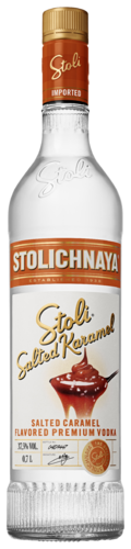 Stoli Salted Karamel 37,5% vol. alcohol 0,7L